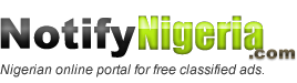 Notifynigeria.com: Free Classified Ads Website