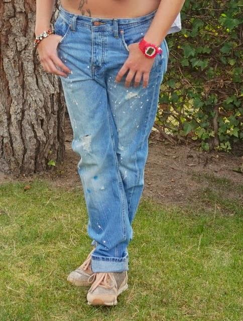 pantalones boyfriend vaqueros