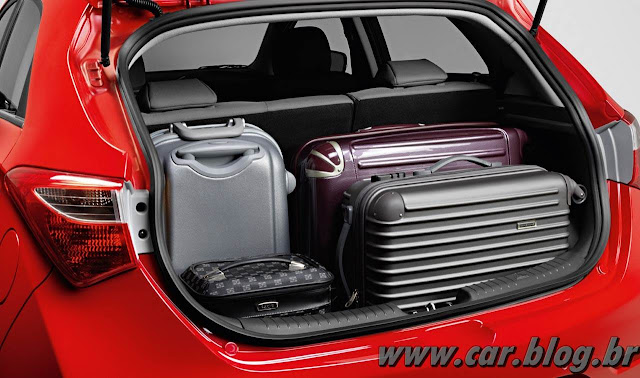 Hyundai HB 20 - porta-malas