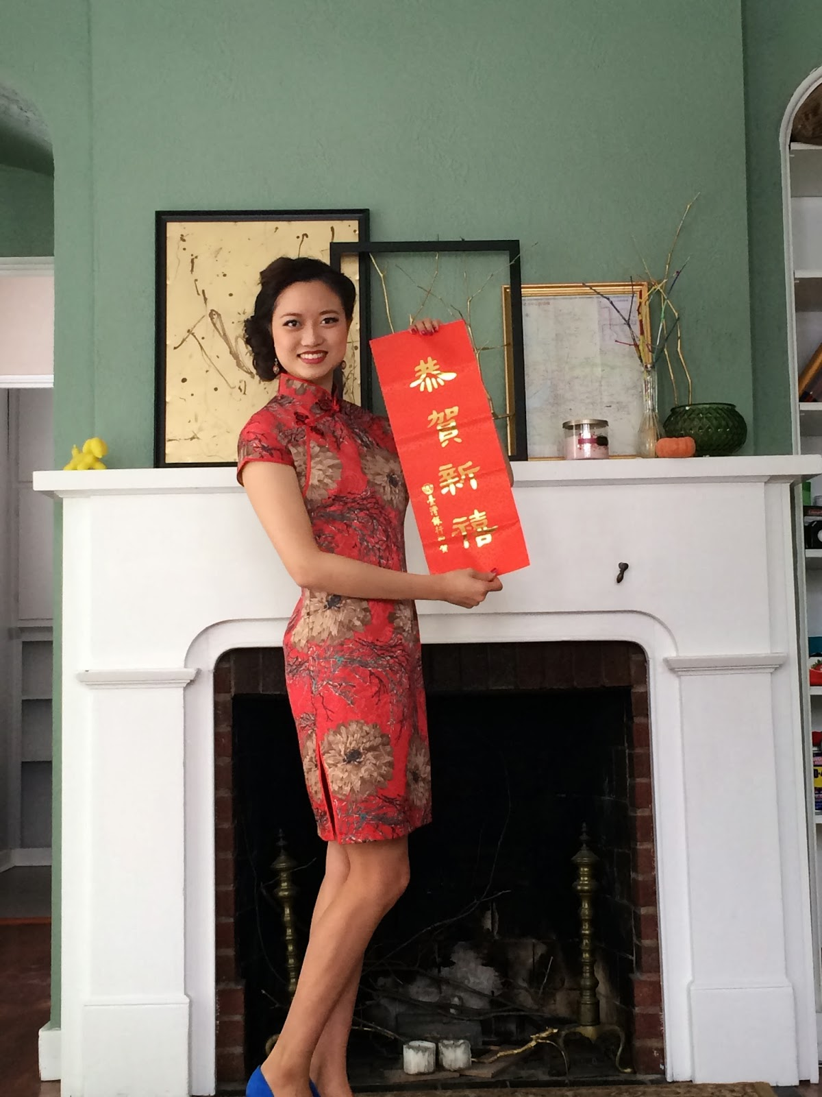 Dress up chinese - The Approach Of Lunar New Year Is A Legit Reason To Dress Up I Love How My Retro Hair Turned Out So Happy Chinese New Year Everybody