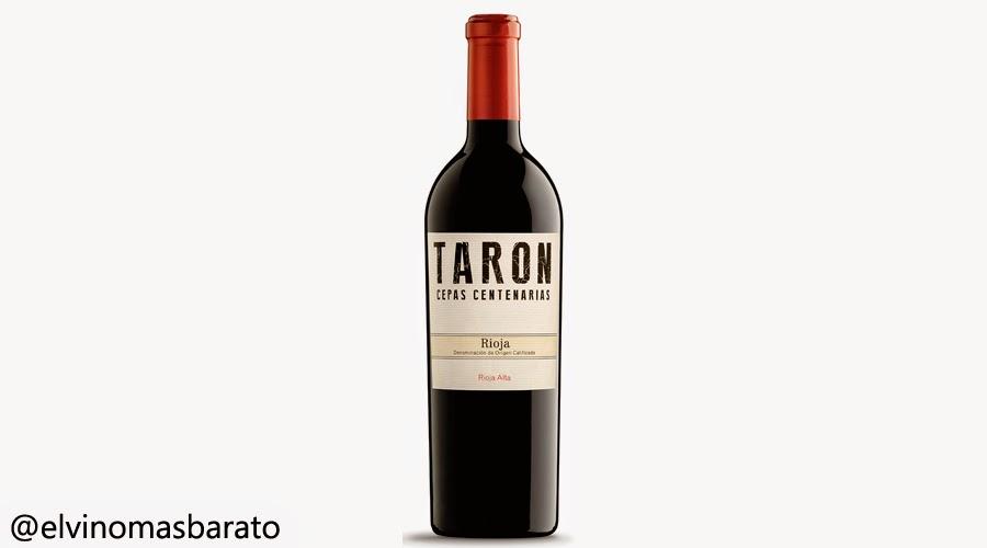 vino tinto taron cepas centenarias