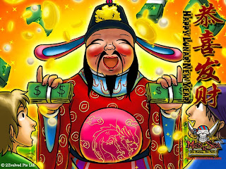 Free Download Gong Xi Fat Cai Angpao Wallpapers