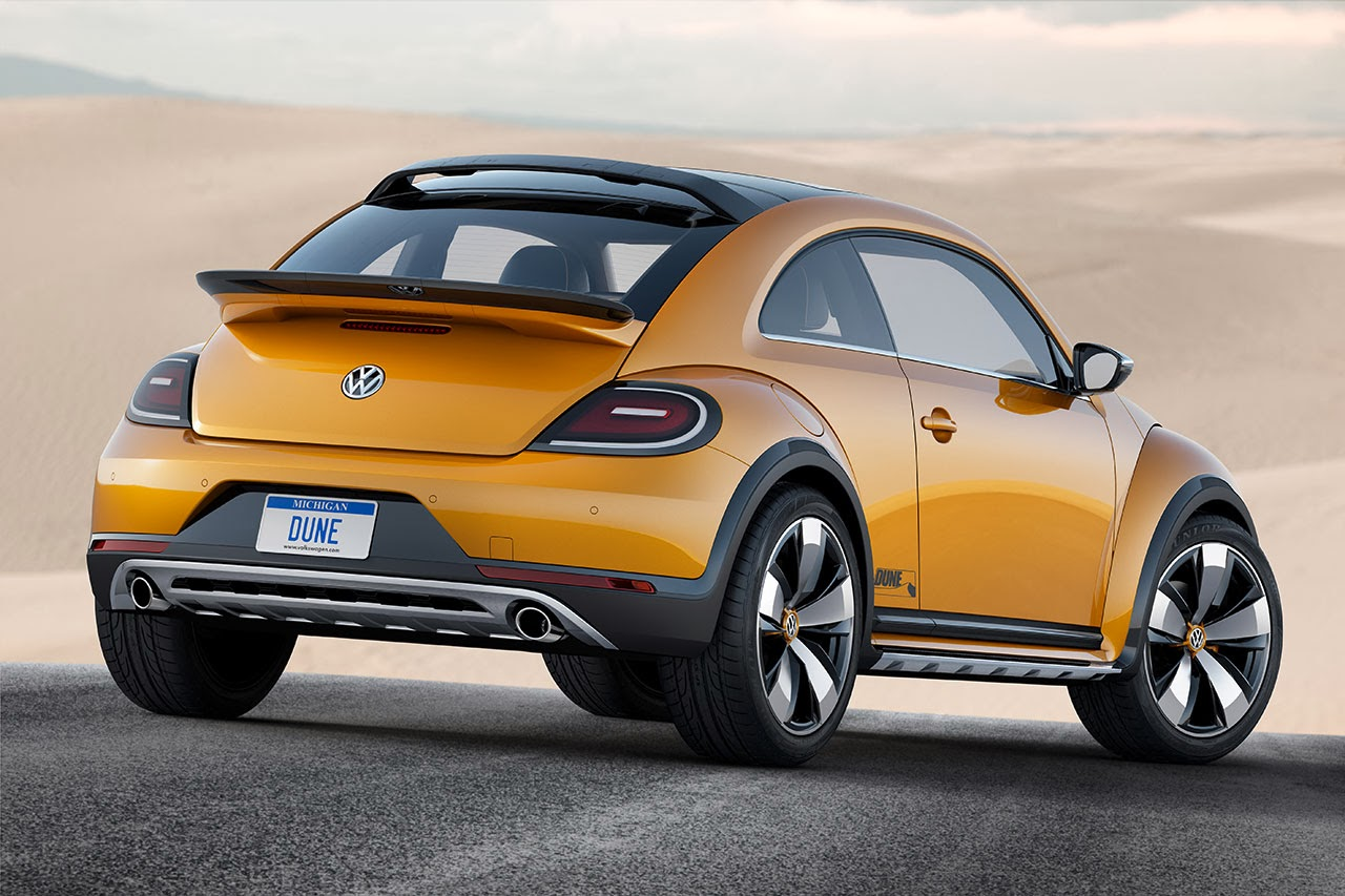 Volkswagen Beetle Dune Concept Car rear