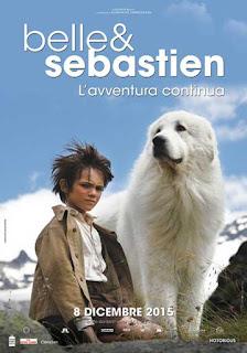 Locandina film Belle e Sebastien L'avventura continua
