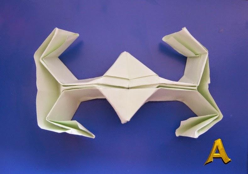 """Оригами звездолет из фильма """""""