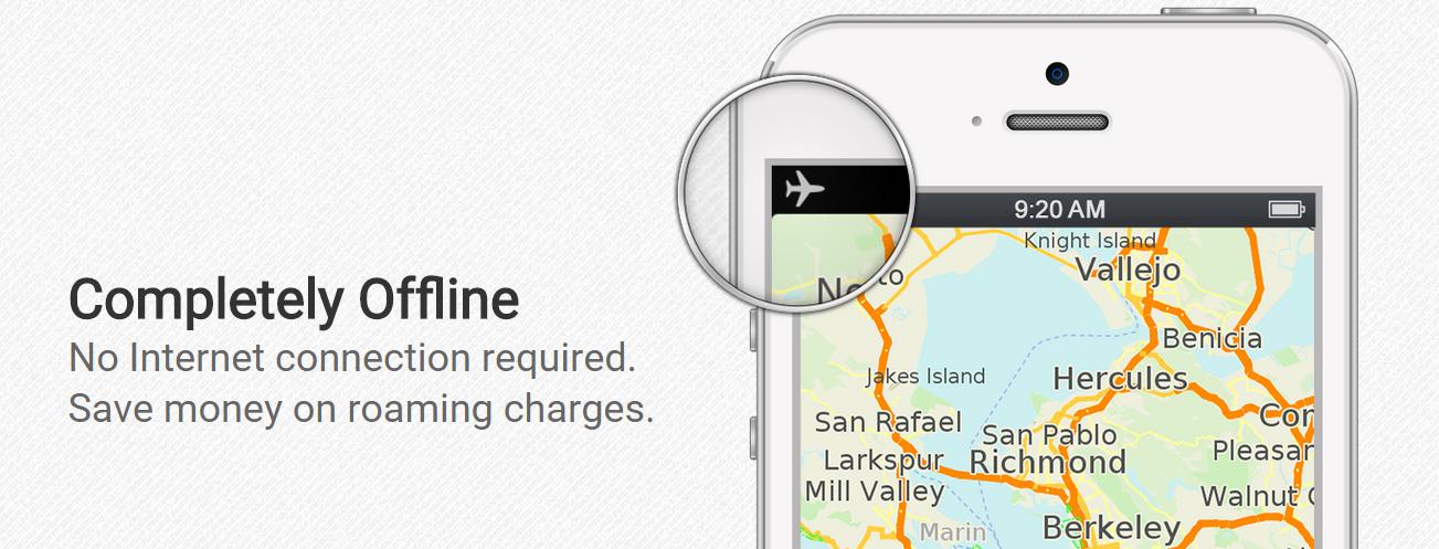 Download Offline Map dengan MAPS ME