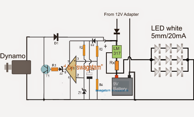 wiring diagram dynamo to battery wiring image battery charger circuit using dynamo car wiring schematic diagram
