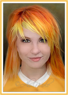 Hayley Williams Paramore hot red bonde hairstyle HQ HD foto