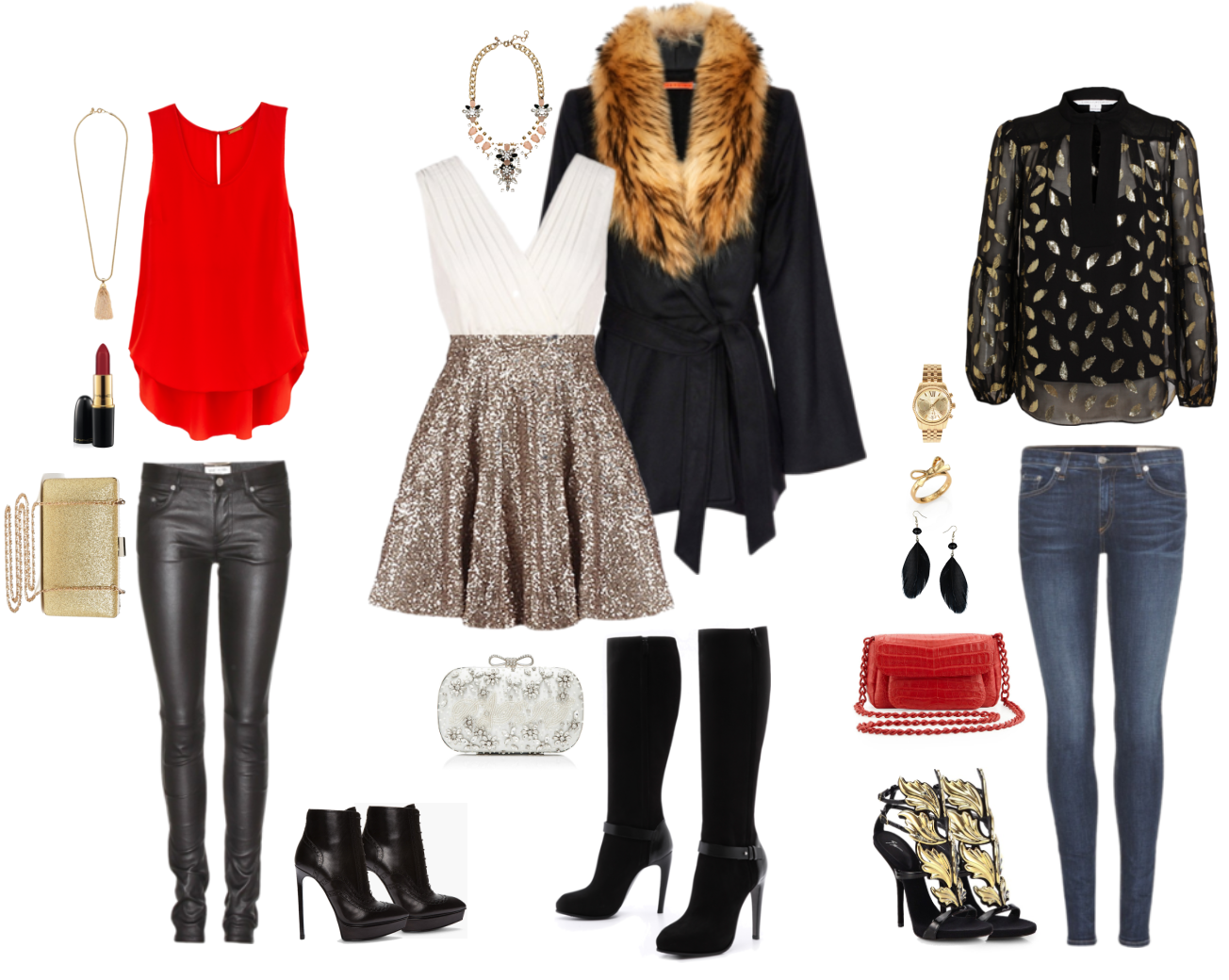 Styleista what to wear to a holiday party