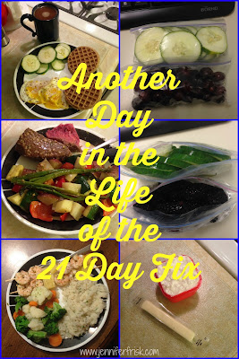 A Day in the Life of the 21 Day Fix