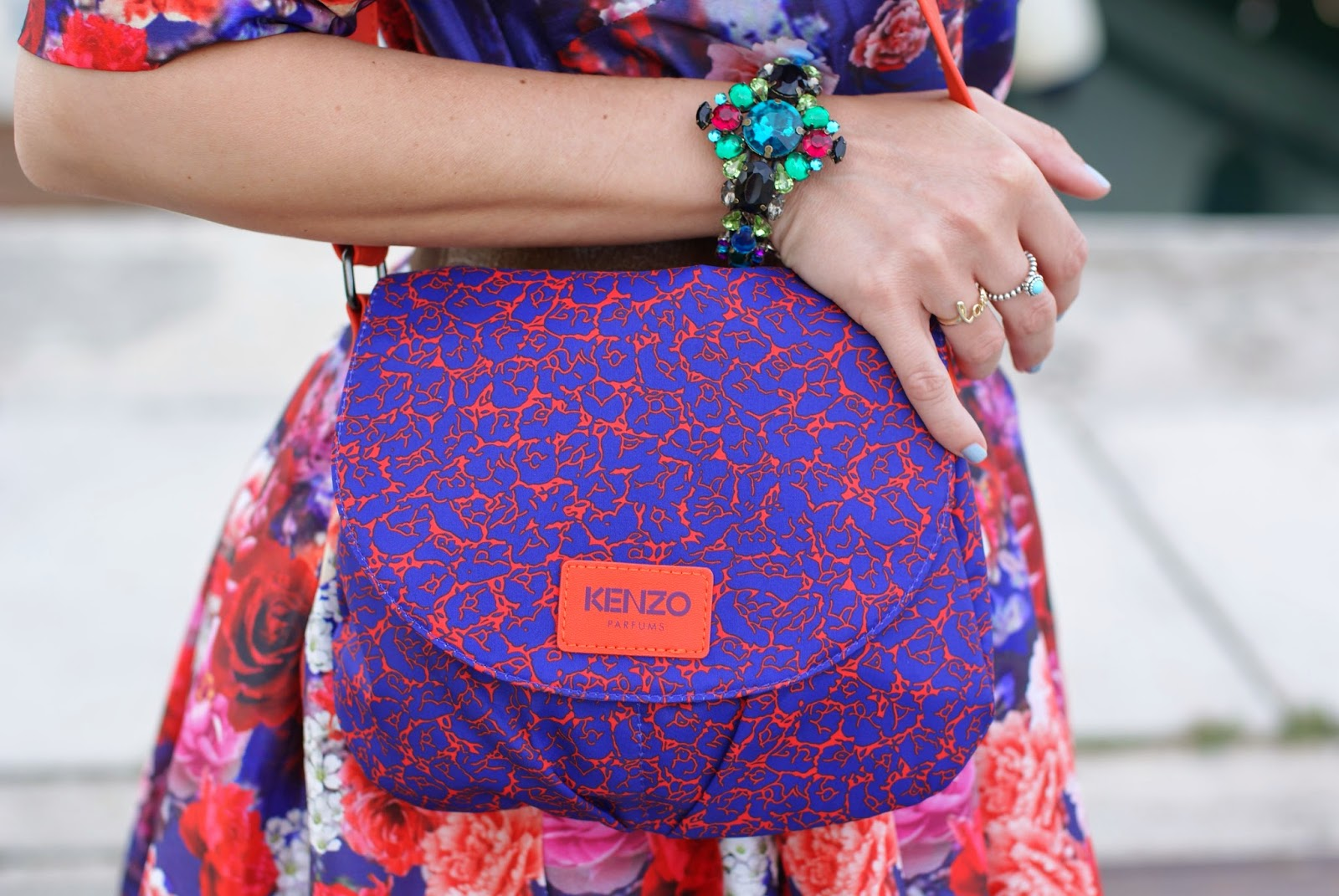 Kenzo bag, Sephora Kenzo gift, Mercantia bijoux, Fashion and Cookies, fashion blogger