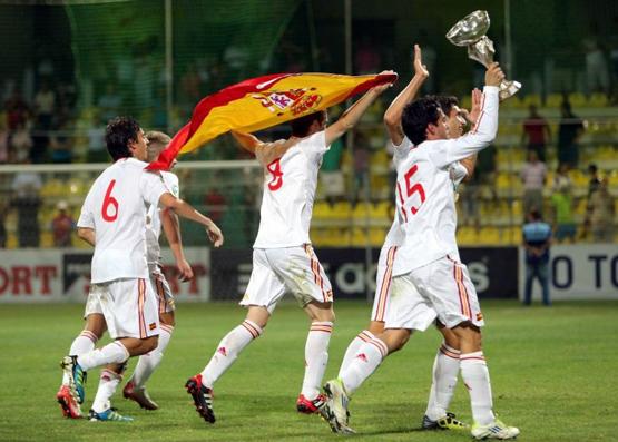 selección española sub 19 de fútbol campeona de Europa 2011