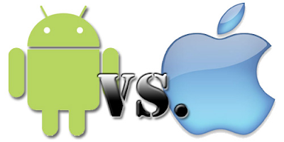 Android vs. Apple iOS : Features compared