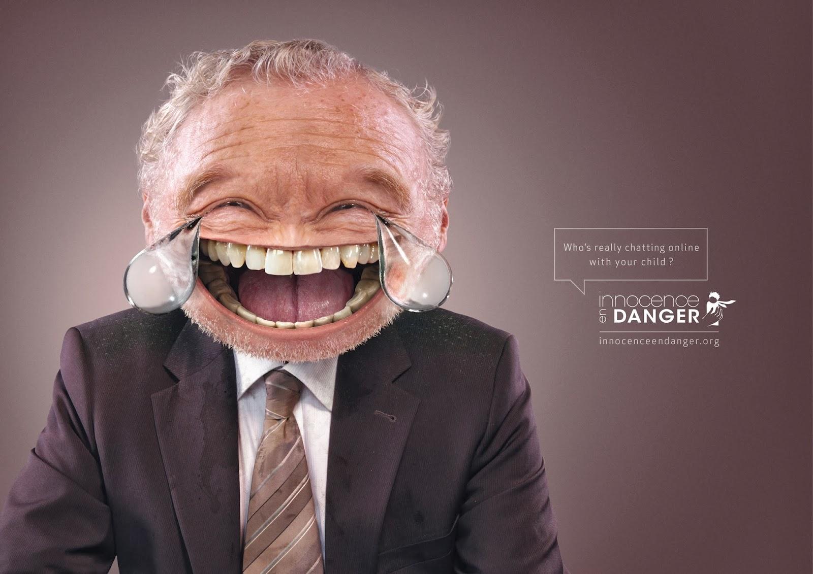 Innocence en Danger Emoticons campaign,
