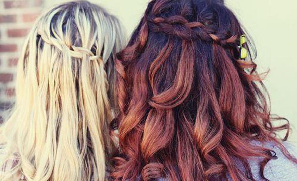 29 peinados con trenzas cascada mujeres peinados para - Chicas con trenzas ...