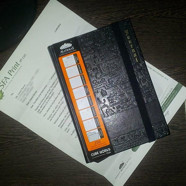 Matrikas Paper Products Cube Works Elite Journal