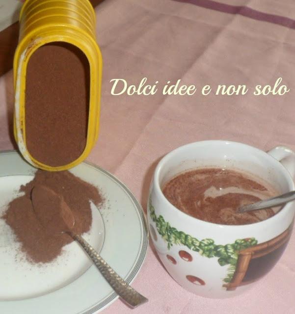 cioccolato solubile per latte, ovvero nesquik home made