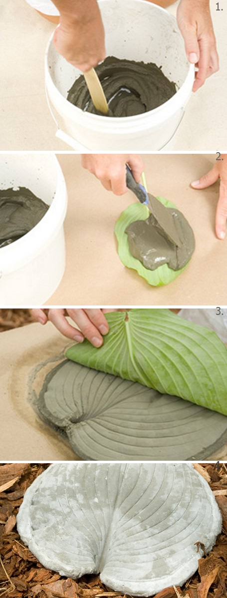 How to Make Stepping Stones DIY