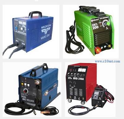 máy hàn hồ quang điện và máy hàn que