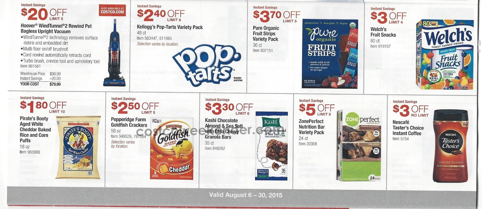 Costco discount coupon book