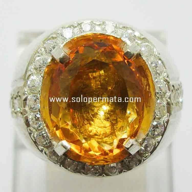 Batu Permata Golden Citrine- 21B10