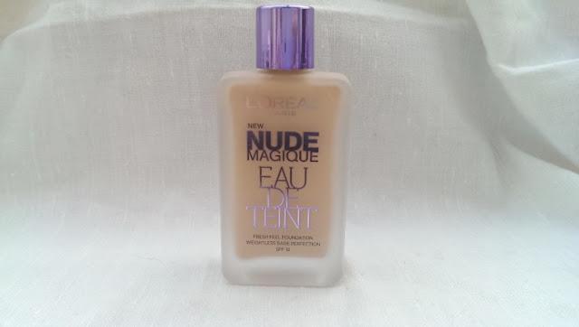 The loreal nude magique eau de teint
