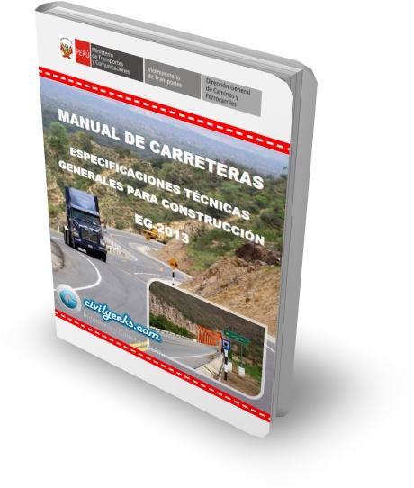 Manual De Carreteras Especificaciones T Cnicas Generales