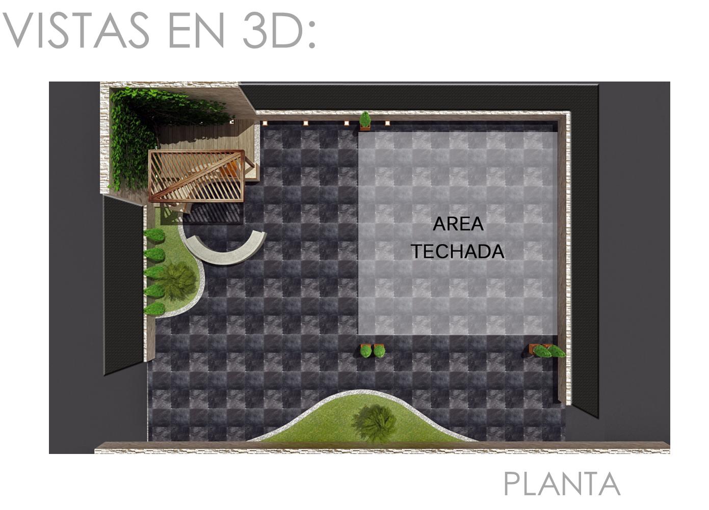 Proyecto remodelaci n terraza centro naval vm designer for Diseno de jardines 3d 7 0 keygen