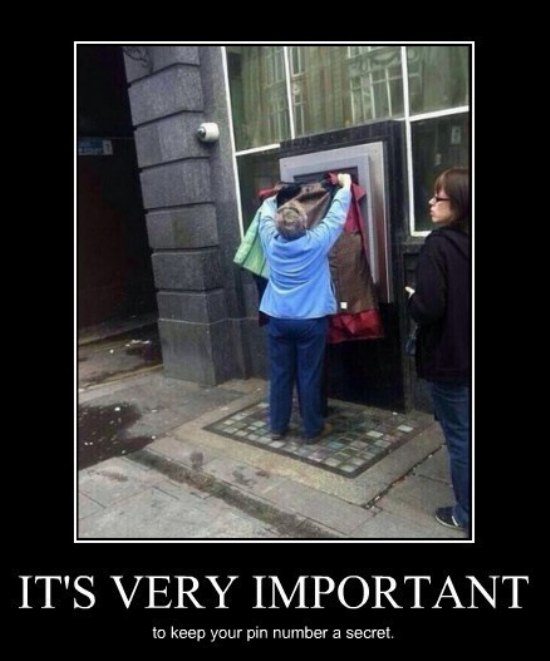 motivated pics 3 security memetics using the atm securely