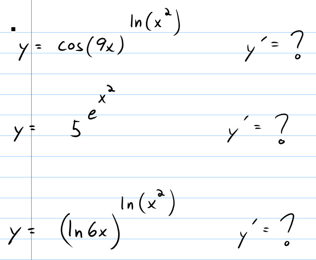 Ml1983mathematics Logarithmic Differentiation Examples And Answers
