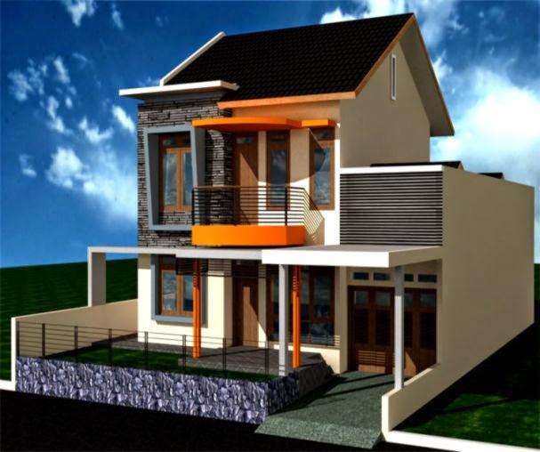 model rumah minimalis lantai 2 design rumah minimalis