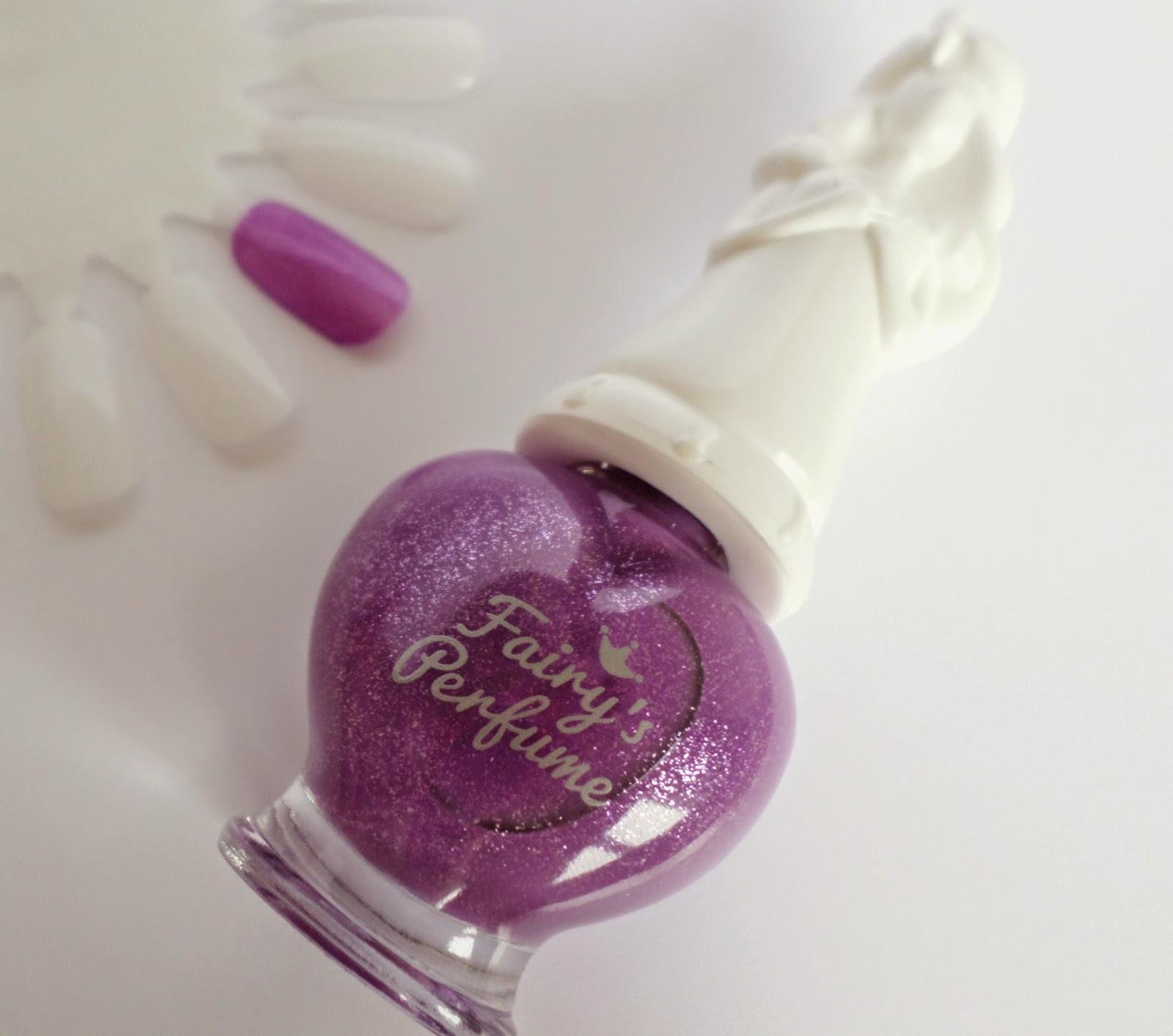Shara Shara Fairy's Perfume Nail Polish VL01 Lilac Bora 65g rrp $4