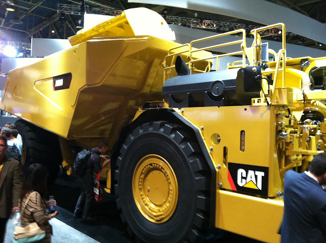 Caterpillar AD60 Underground Articulated Truck
