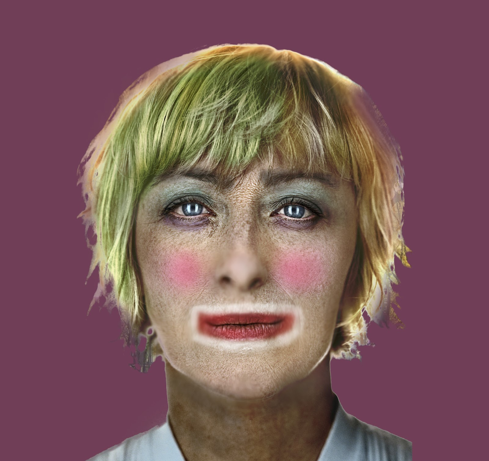 Cindy Sherman Clowns Cindy sherman clownedCindy Sherman Centrefolds