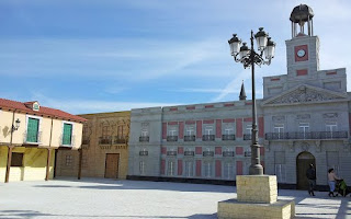 Reproducción de La Plaza Mayor y La Puerta del Sol, Parque Europa