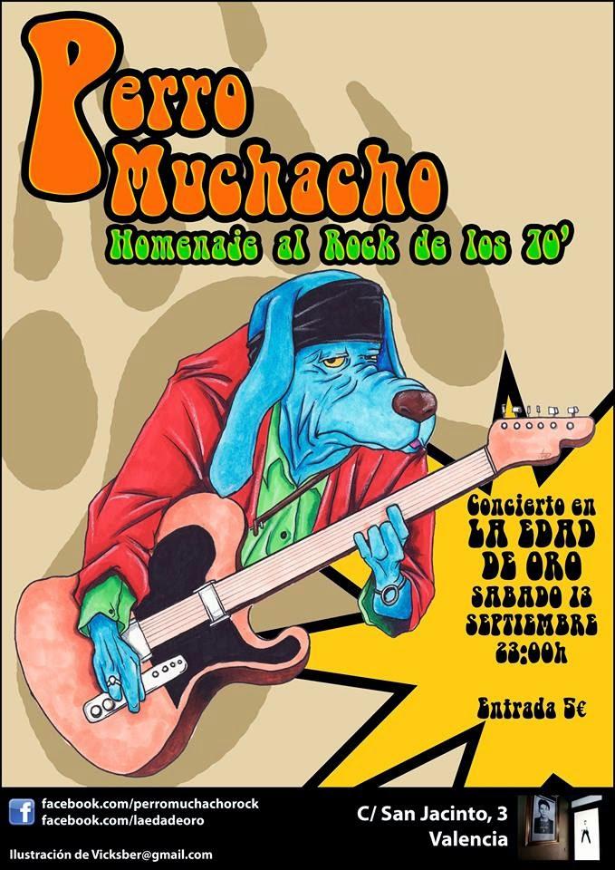 Cita con PERRO MUCHACHO y su rock setentero