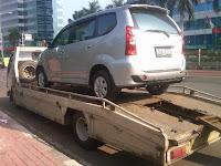 Pengiriman Toyota Avanza B 1718 SOB Jakarta ke Semarang