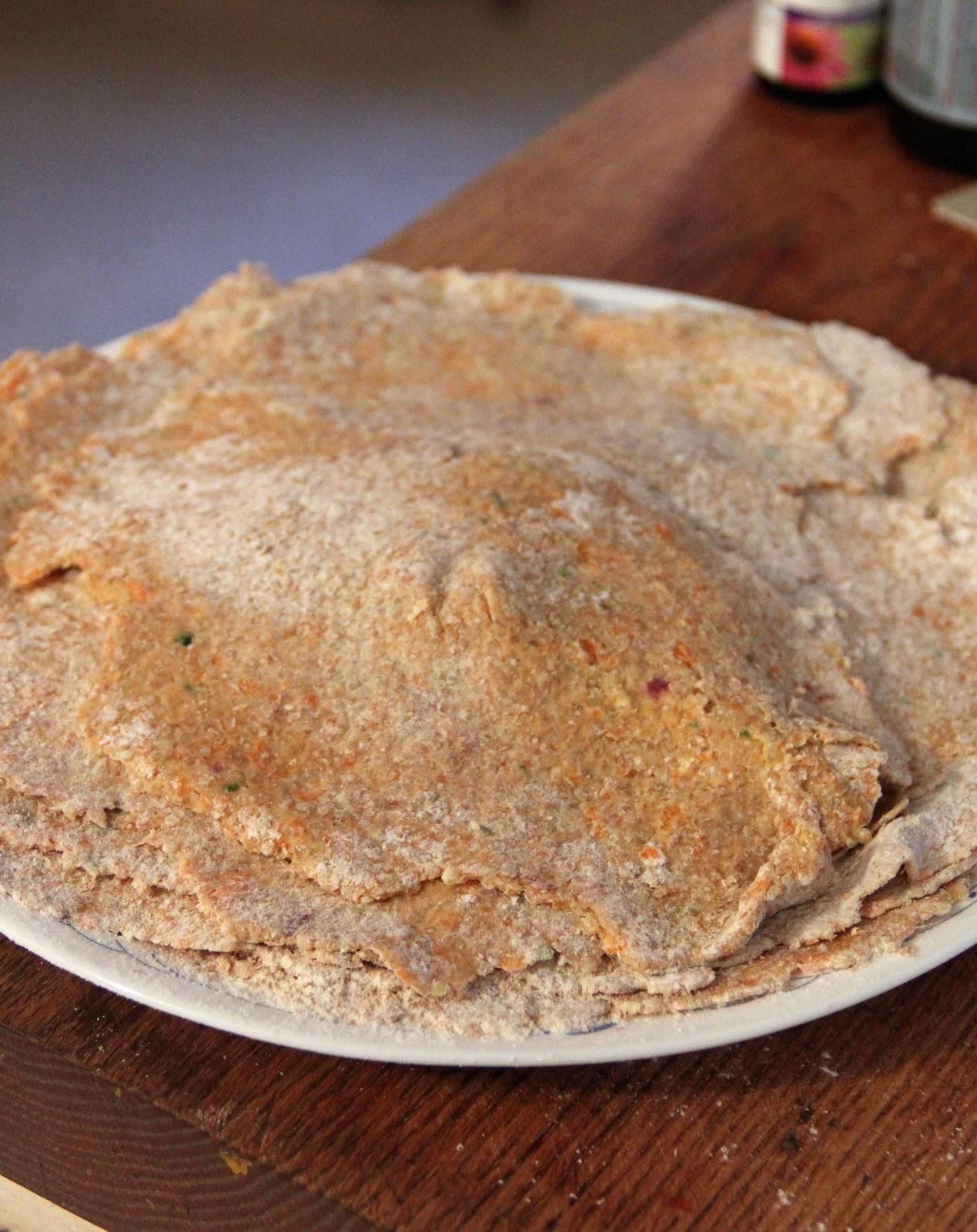 Jo and Sue: Quinoa Flatbread