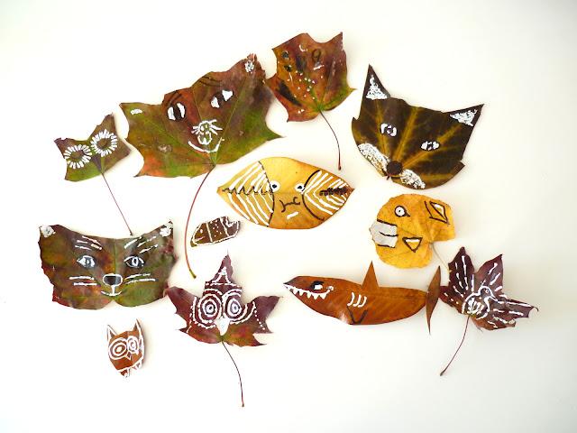 activité enfant feuilles d'automne
