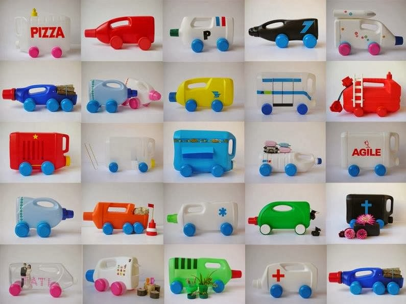 Поделка из пластика для детей 748