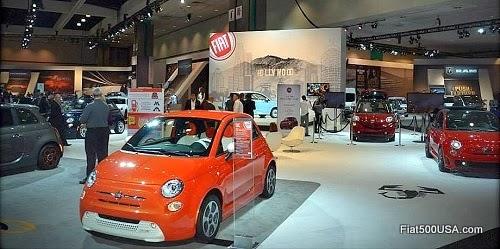 Fiat at the 2013 LA Auto Show