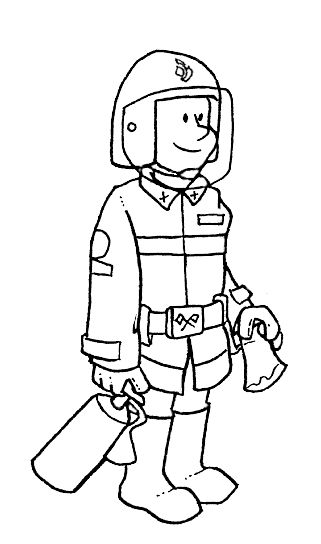jobs and occupations coloring pages - photo#26
