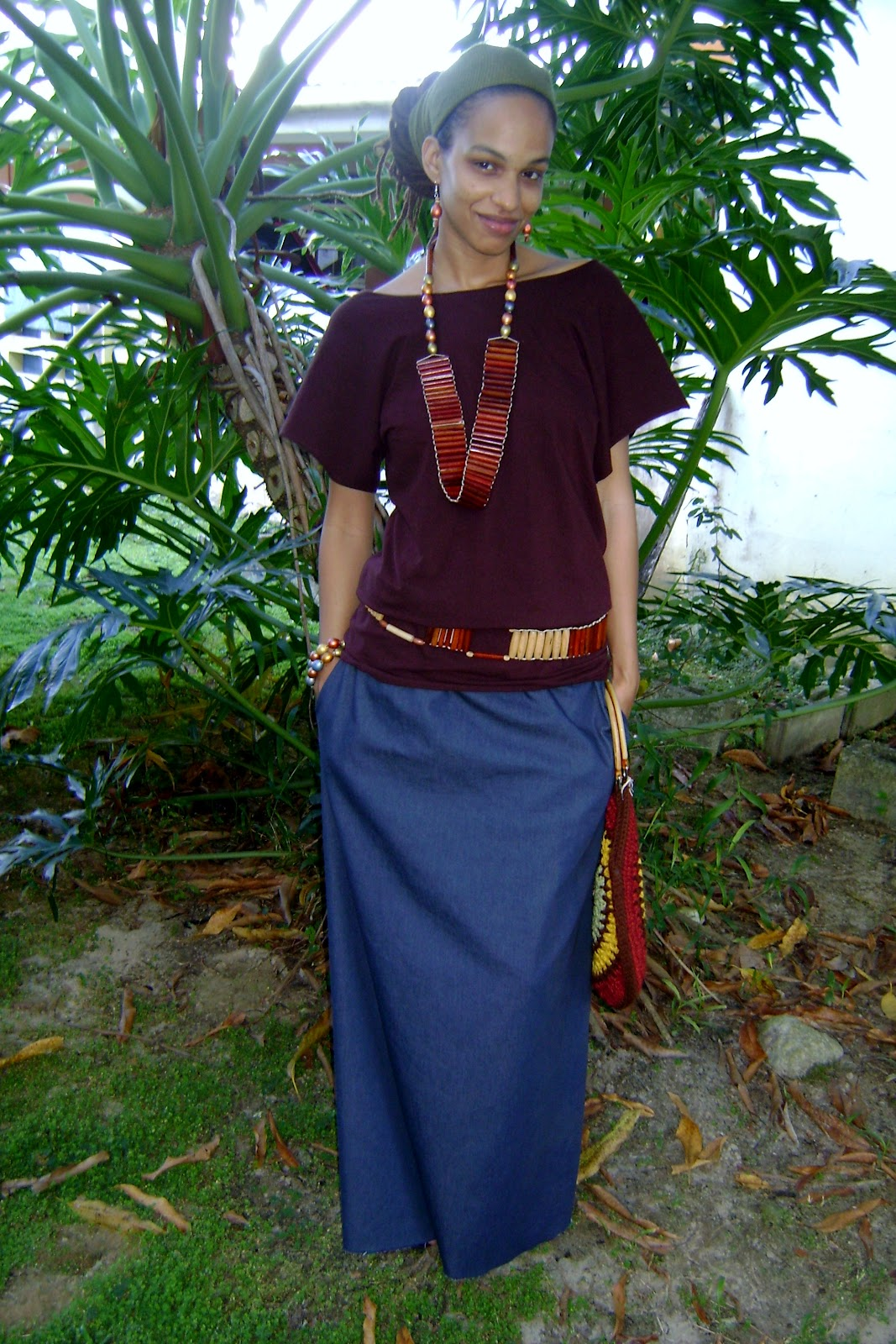 Rasta Wife Line: How to Sew a Maxi Skirt with Pockets Tutorial