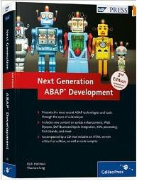 Next Generation ABAP Development (2nd Edition)