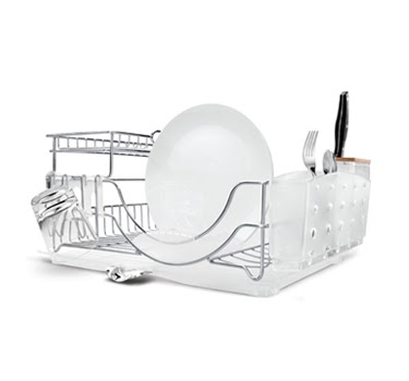 Rust Proof Stainless Steel Dish Racks By Simple Human Apartment Therapy In Little Red Dot