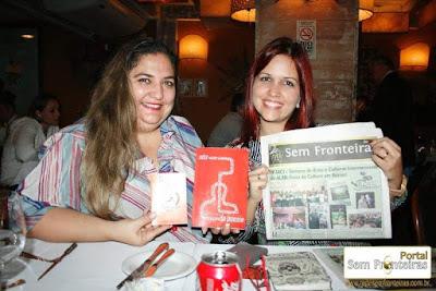 Jornalistas a serviço da Cultura  Dyandreia Portugal (Sem Fronteiras) e Brenda Marques (Imersão Latina)