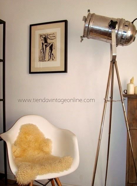 Lámparas vintage online. Decorar con focos antiguos. Imágenes de inspiración. Decoración estilo industrial