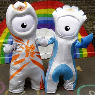 wenlock mandeville olympics 2012 - London Olympics 2012 Games – Rumors False Flag Operation!