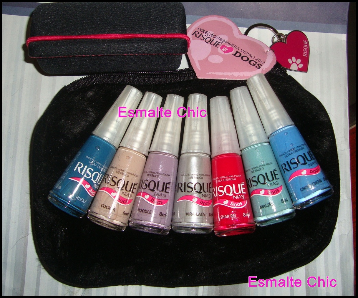 Esmalte Chic Swatches Love Dogs Fast Fashion Risqu