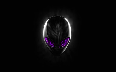 Alienware Purple Eyes Wide Screens Wallpapers